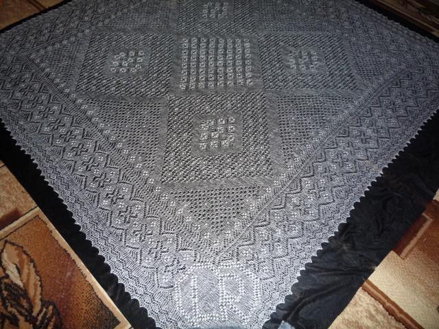 Схема вязания туники.